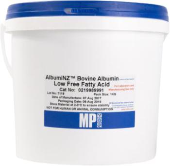 AlbumiNZ™ Bovine Albumin Low Free Fatty Acid, ≥97%