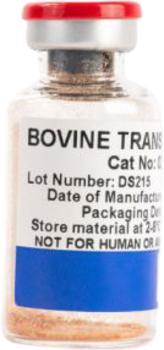 NZ Bovine Transferrin (Holo), Heat Treated