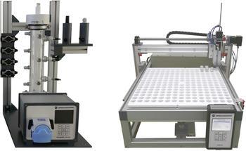 Appliationsbeispiel - Autosampler AS2 angeordnet an einer Durchlaufsäule (Bodensäule oder Ionentauscher)