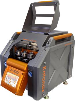 Fully electric SPEX fusion fluxer for sample preparation for XRF, ICP and AA analysis