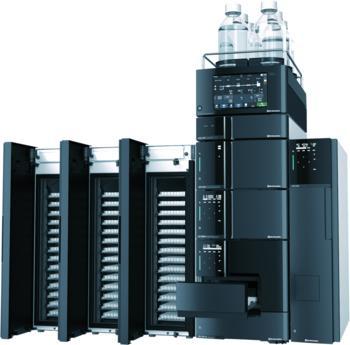 Nexera LC-40 mit Plate Changer zur Erweiterung der Probenkapazität
