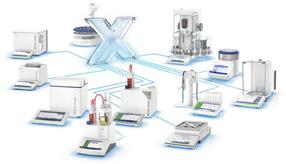 LabX Laboratory Software connects to multiple METTLER TOLEDO lab instruments