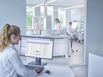 Arbeit im Labor oder im Büro