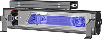 The LGD F200 OEM Module inside view
