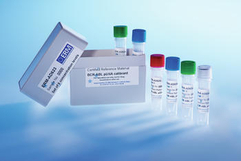 Certified reference material  ERM-AD623 for leukaemia monitoring