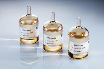 Certified reference material ERM-CA400 for the measurement of mercury in sea water