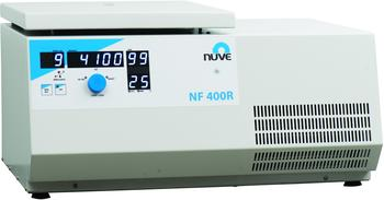 NF 400R MEDIUM CAPACITY REFRIGERATED BENCH TOP CENTRIFUGE POWERED BY N-Prime™