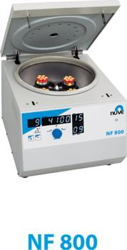 NF 800 MULTI - PURPOSE VENTILATED BENCH TOP CENTRIFUGE POWERED BY N-Prime™