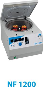 NF 1200 MULTI – PURPOSE VENTILATED BENCH TOP CENTRIFUGE POWERED BY N-Prime™