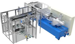 Vollautomatische Entnahmeautomation MA X-Tip