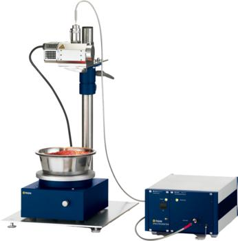 Polytec NIR-Spektrometer mit Distanzmesskopf