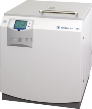 Floor-standing centrifuge Sigma 8KS is the top performer for universal deployment