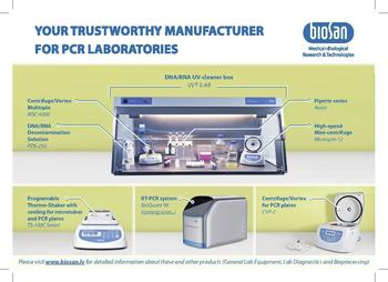 Full PCR product Line