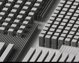 Mehrlagige Nano- und Mikrostrukturen basierend auf ihre Produktanforderungen