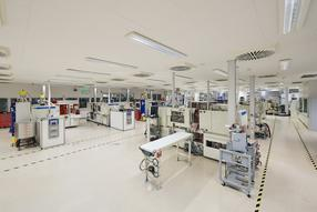 ISO 13485 certified production facility at our plant in Anif, Salzburg (AT)