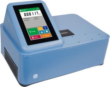 Dichtemessgerät der DSG-Serie mit fünf Dezimalstellen und farbigem Touchscreen