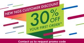 Contact us to take advantage of our limited time offer for new NGS customers.