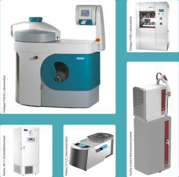 Autoclaves | Water Purification Systems | -86°C Ultra-Low Freezers | Glassware Washers | H2O2- Airborne Disinfection