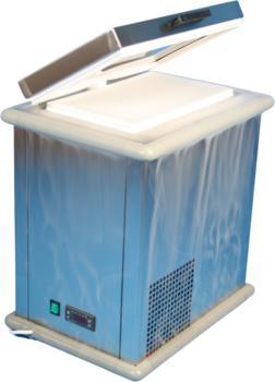 Kleine Tiefkühlschränke und –truhen für die Aufstellung unter oder auf dem Labortisch.
