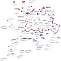Das DiagnostikNet ist regional fokussiert, hat jedoch deutschlandweit und darüber hinaus Mitglieder - in Summe über 70.