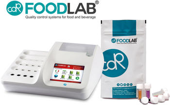 CDR FoodLab, a line of innovative analysis systems composed by analyzers and reagents