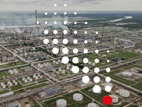Making gas leaks in the chemical industry visible from kilometres away