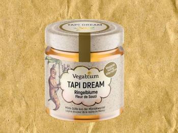 """""""Tapi Dream"""" eine Honig-Alternative, bei der die Süße aus der Maniokwurzel kommt."""