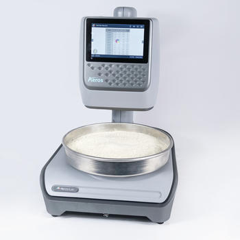 Measure the color of powders with Aeros