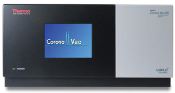Thermo Scientific Corona Veo Charged Aerosol Detector integrates into any LC, HPLC, or UHPLC from any manufacturer