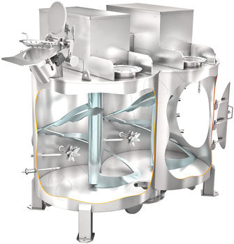 amixon® twin-shaft mixer HM