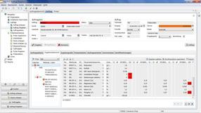 lisa.lims 10 - Auftragsfreigabe -  Ergebnisübersicht