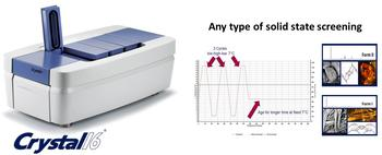 Any type of solid state screening now available on the Crystal16