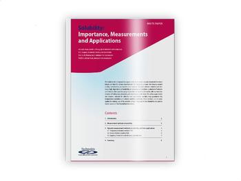 Whitepaper zum Thema Löslichkeit: Bedeutung, Messungen und Anwendungen