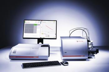 Der Litesizer analysiert Partikelgrößen, Zetapotenzial, Transmission, Molmasse und Brechungsindex. Das SurPASS 3 misst Zetapotenziale an Oberflächen.
