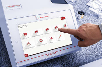 Intuitive einfache Bedienung über 10-Zoll-Touchscreen.