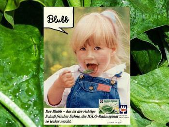 Anzeige aus dem Jahr 1985 - bis heute schafft der Blubb köstliche Kindheitserinnerungen