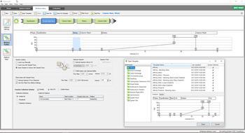Intuitiv zu bedienende 'ChromLab'-Software hilft bei der Erstellung Ihrer Chromatographie-Protokolle