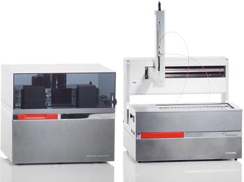Interface isoprime precisION with a headspace analyzer for isotope analysis of gases, liquids, and carbonate minerals.