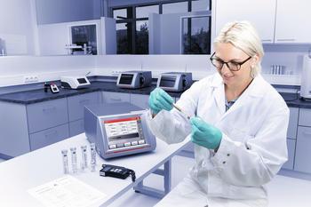 Anton Paar GmbH's ISO 17025 calibration laboratory in Graz, Austria