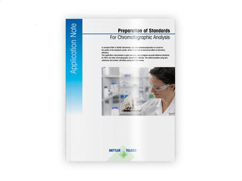 Preparation of standards for chromatographic analysis