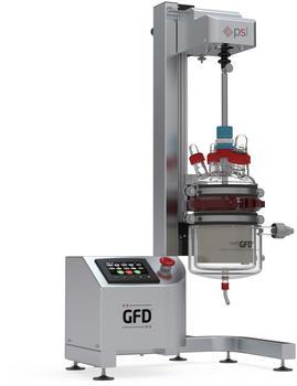 GFD®Lab PLUS - mit automatisiertem Betrieb und 050 Behältnis aus Borosilikatglas 3.3