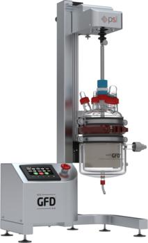 GFD®Lab PLUS - Featuring automated operation and 050 Borosilicate 3.3 glass vessel