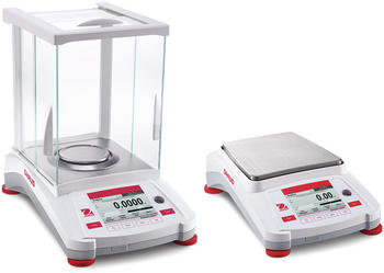 OHAUS precision balances offer a wide range of models from mg balances with a draft shield to more robust balances with large pans for bigger samples.