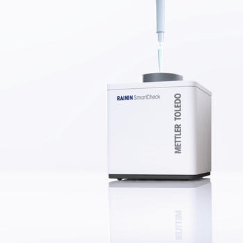 SmartCheck ensures that the pipette you use performs as expected.