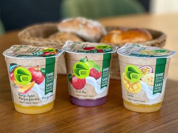 Ohne Zucker: Neue Frucht-Joghurts im Migros-Sortiment