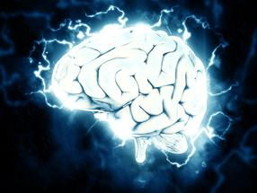 What happens in brain cells affected by Alzheimer's disease?