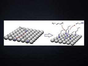 Asistencia molecular: La capa de moléculas ayuda a la hidrogenación quimioselectiva en catalizadores sólidos de paladio