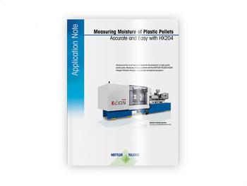 Measuring Moisture of Plastic Pellets