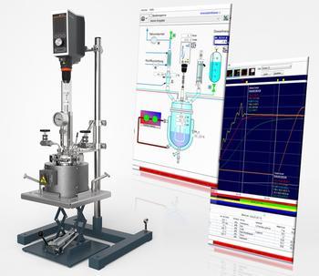 In der übersichtlichen Software haben Sie bei bis zu 4 Reaktoren den gesamten Prozess im Blick