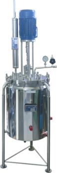 Thinking big? The 50 L vacuum vessel with its own condenser for a stable vacuum.